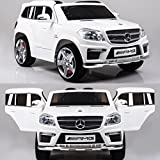 Mercedes-Benz GL63 AMG V8 Kinder Elektro Auto - Original Lizenz Daimler - Vollausstattung - Beleuchtung - Vollgummi - Bluetooth ...