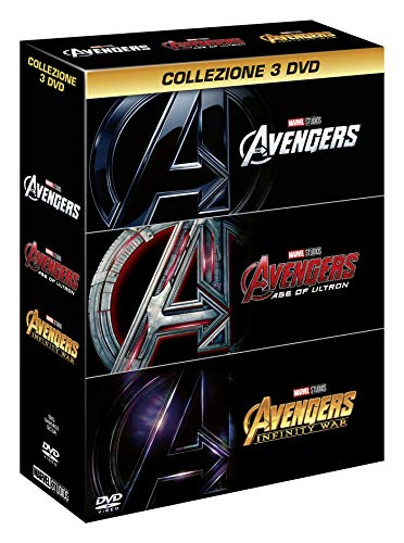 Avengers 1-2-3 (Box 3 Dvd)