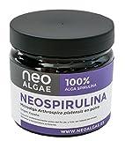 Spirulina orgánica en polvo 100% natural | Apto Para Veganos | Origen De Las Microalgas España | Neospirulina 100g | Certificación Halal
