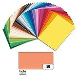 folia 614/50 45 Fotokarton, DIN A4, 300 g/qm, lachs