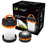 LE LED Camping Laterne Taschenlampe,...