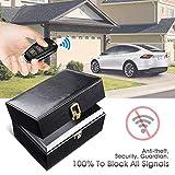 Ying-feirt Signal de clé de voiture bloquant le sac de boîte, caisse de bloqueur de RFID de boîte de Faraday, grande boîte de stockage de sécurité de voitures sans clé anti-effraction