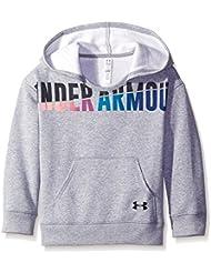 Favorite Under Armour-Sudadera con capucha para niña, diseño de True gris Heather FR: M (talla fabricante: YMD)