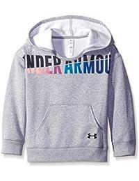 Under Armour Favorite Fleece Hoody-Trg//Blk Sweat-Shirt à Capuche Fille