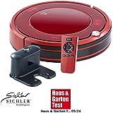 Sichler Haushaltsgeräte Saugroboter: Staubsauger-Roboter PCR-3550UV mit Ladestation, HEPA Filter & UV-Lampe (Robotersauger)