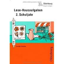 Lese-Hausaufgaben 2. Schuljahr von Scholtes, Cornelia (2011) Ringeinband