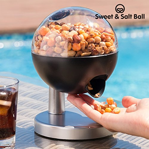 Sweet & Salt Ball Mini - Il nuovo dispenser automatico di caramelle, cioccolatini, arachidi e (Giocattolo Candy Machine)