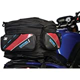 MOTORCYCLE OXFORD LUGGAGE TAIL BAG Motorbike Touring Luggage Pack Bag With 36 Litre Capacity