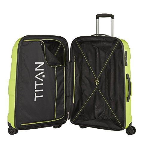 TITAN X2 Hartschalenkoffer Größe M+, 825407-13 Koffer, 71 cm, 90 L, Lime Green - 2