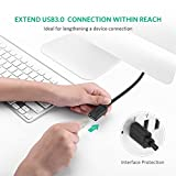 UGREEN 10373 USB Extension Lead Extender Cable for Oculus Rift, PS VR, HTC VIVE etc Black 2m