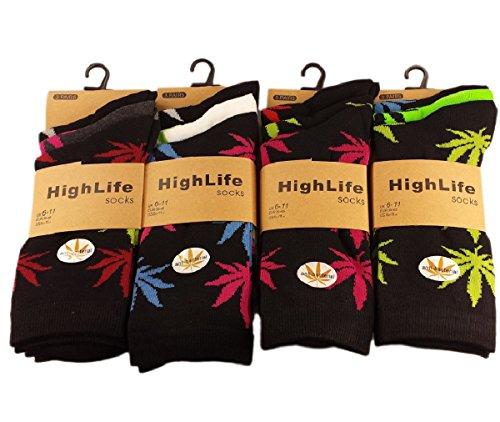 (FF11) 12paia di calzini da uomo in cotone, misura 6-11, by FLAVES FASHION @ High (Cotone Rich Dress Calzini)