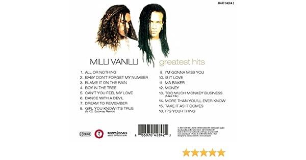 Im Gonna Miss You By Milli Vanilli On Amazon Music Amazoncouk