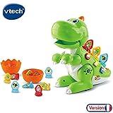VTech - Codi mon robot-dino rigolo - dinosaure interactif - idéal 2-5 ans - vert (518705)