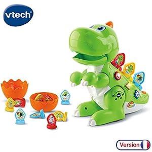 VTech Codi Mon Robot-Dino Rigolo - Juegos educativos (Multicolor, Niño/niña, 2 año(s), 5 año(s), Francés, AA)