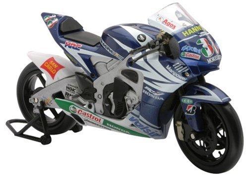 New Ray-43017-Fahrzeug-Moto GP Honda Melandri 1/12.