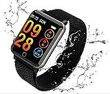 Aursen Pulsera Actividad Deportiva Hombre IP67 Impermeable Fitness Tracker Podómetros Reloj Inteligente