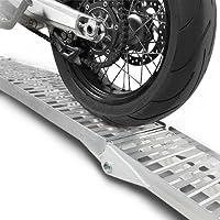 Rampa di carico moto alluminio Constands, max. 340 kg, pieghevole Suzuki B-King, Bandit 600/650/120071250/S, Burgman 125/200/250/400/650, DR 125/350/650/750/800/SM/ S/SE/R/RE/RSE/S BIG