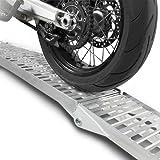 ConStands R1 - Motorrad Auffahrrampe 2,25 Meter Alu einzeln 340 kg als paar 640 kg klappbar Rampe Auffahrschiene faltbar