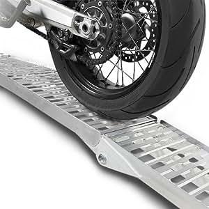 Constands rampe de chargement en aluminium, max. 340 kg, pliable, pour moto, scooter, quad, ATV