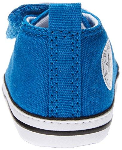 Converse Unisex - Kinder Schuhe CT Easy Slip Blau Babyschuhe Kinderschuhe Lauflernschuhe Baby Schuhe Krabbelschuhe Blau