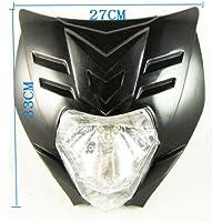 Dirt bike moto universelle LEDVision phare Street Fighter phare KTM noir