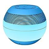 LLZMNYX Mini Stereo Lautsprecher/ Wireless/Bluetooth Lautsprecher/Tragbar/Outdoor-Karte Audio/Geburtstag/Geschenk/Valentinstag/Mini/Subwoofer/Handy/Ton, Blau