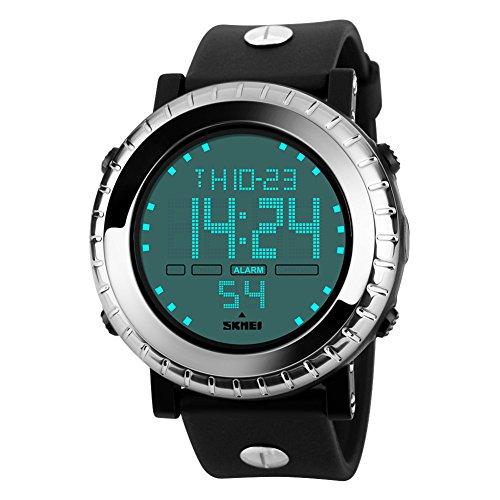 Orologi digitali waterproof/Sport Outdoor moda quadrante/Orologi automatici economici-A