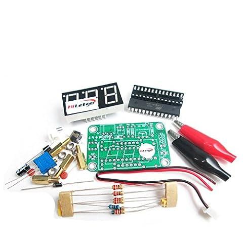 Hiletgo Voltmètre DIY Kit tension Mètre Electronic Production Suite