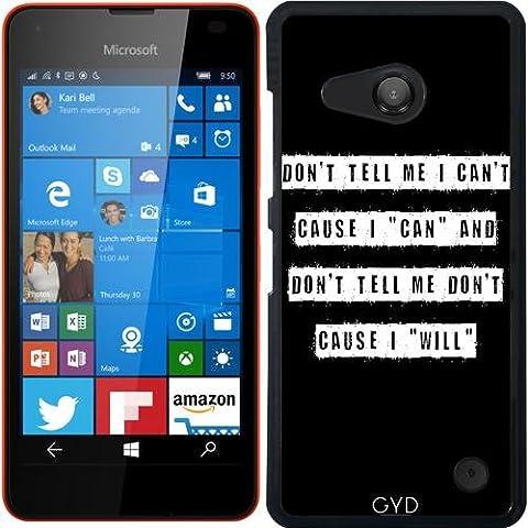 Hülle für Microsoft Lumia 550 - Erzählen Sie Mir Nicht