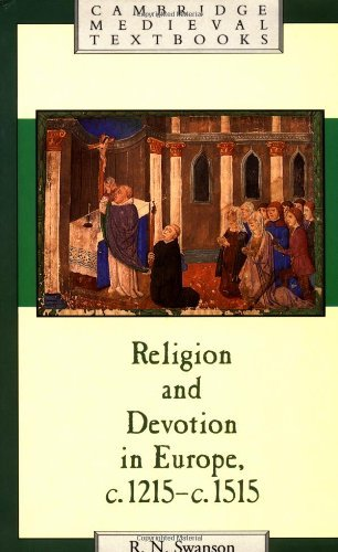 Religion and Devotion in Europe (Cambridge Medieval Textbooks) by Swanson (2008-01-12)