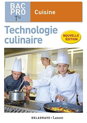 Technologie culinaire Tle BAC Pro cuisine : Pochette élève