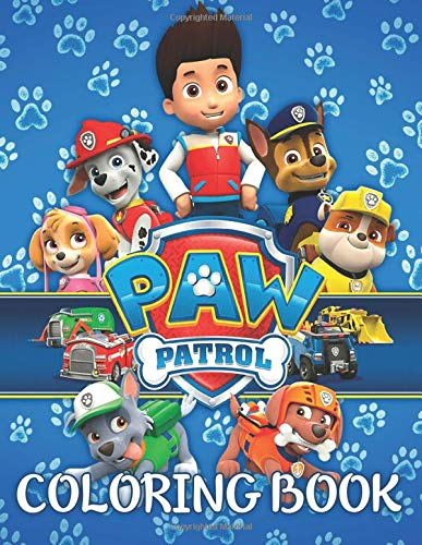 PAW Patrol Coloring Book: 43 Exclusive Illustrations