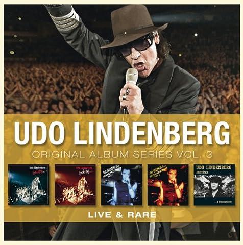 Original Album Series Vol.3 (Live & Rare) (Udo Lindenberg Cds)