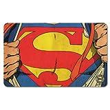 DC Comics - Retro Comic Frühstücksbrettchen Schneidbrett - Superman -Man of Steel!