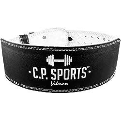 Gewichthebergürtel - Leder - Bodybuilding Gürtel, C.P. Sports M