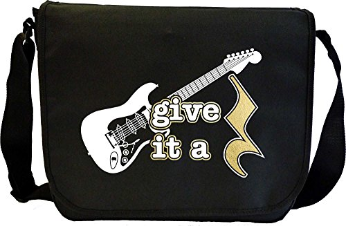 Electric-Guitar-Give-It-A-Rest-Sheet-Music-Document-Bag-Musik-Notentasche-MusicaliTee