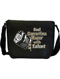 Concertina Cool Natural Talent - Sheet Music Document Bag Musik Notentasche MusicaliTee