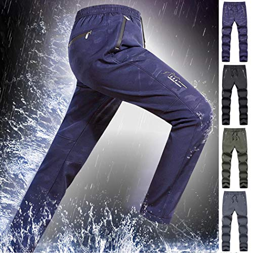 Pantaloni Uomo per Allenamento Sportivo Impermeabili