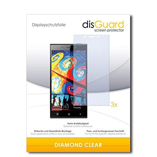 3 x disGuard® Schutzfolie Gionee Elife E7 Bildschirmschutz Folie