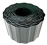 Rasenkante 9m lang 10cm hoch Rasenumrandung Beetbegrenzung Raseneinfassung Mähkante grün