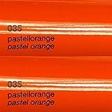 Unbekannt Oracal Plotterfolie Glanz 751c 035 Pastell-Orange 63 cm Breite gegossene Plotter Möbel-Folie