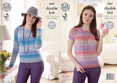 king-cole-4567-knitting-pattern-womens-raglan-sleeve-sweater-in-king-cole-sprite-dk