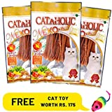 Best Cats Toys - PetSutra Cataholic Treats for Cats and Kittens, Multi Review