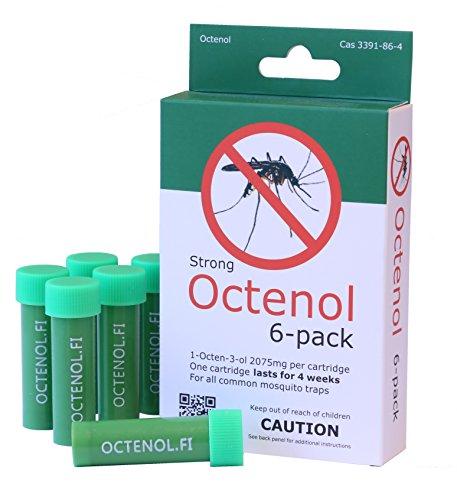 6 pack Mosquito Magnet type Octenol