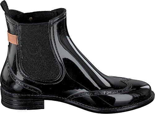 GOSCH SHOES - Stivali di gomma Donna black-cognac