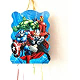 MY PARTY SUPPLIERS Avengers Khoi Bag / Pinata Bag Pull String Party Bag ( Boy theme party special)