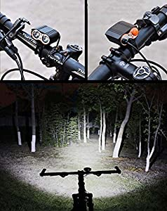 Night Riding Equipment Bicycle Light Fits ALL Bikes, Hybrid, Road, MTB