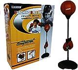 Kids/Junior/Children Free Standing Punch Bag Speed Ball Set + Gloves Boxing Toy