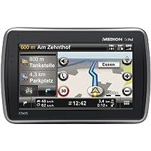 Medion GoPal E5455 Design Navigationssystem (11,94cm (4,7 Zoll), TMC, Kartenmaterial Europa, Bluetooth)