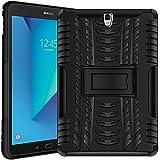 Verco Hülle für Samsung Galaxy Tab S3 9.7, Outdoor Schutzhülle Armor Tablet Case Cover [T820 T825], Schwarz